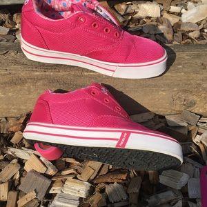 Heelys Pink Skates Shoes Size 1